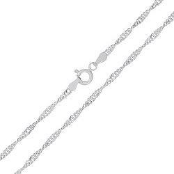 Серебряная цепь Фламенко, 2,5 мм