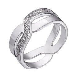 Серебряное кольцо Вивьен с фианитами