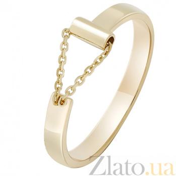 Кольцо Импульс в желтом золоте 000032649