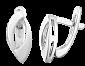 Серебряные серьги Кайна SLX--С2/222