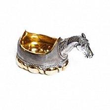 Серебряная братина Лошадь