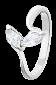 Серебряное кольцо с фианитами Илдико 000025719