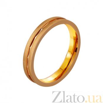 Золотое обручальное кольцо Эдвард TRF--4111171