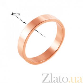 Золотое обручальное кольцо Яркая классика 000005229