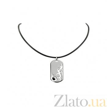 Колье из серебра Кельтский орнамент 3Л598-0001