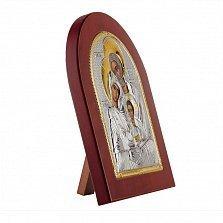 Икона Святое Семейство на деревянной основе, 20х25см
