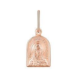 Ладанка из красного золота Святая Анастасия 000143856