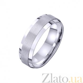 Золотое обручальное кольцо Воплощение любви TRF--421732
