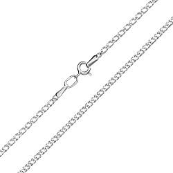 Серебряная родированная цепочка Рембо 000013143
