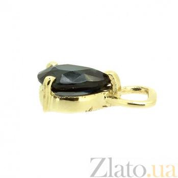 Подвески желтого золота с сапфирами для серег-трансформеров Амина ZMX--TS-6789y_K
