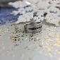 Серебряное кольцо цирконами и сапфирами Биркан ZMX--RCzS-6130-Ag_K