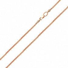 Золотая цепочка из красного золота Меренге