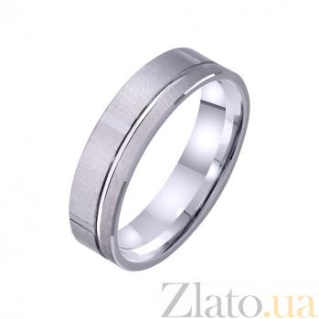 Золотое обручальное кольцо Gloria TRF--421324