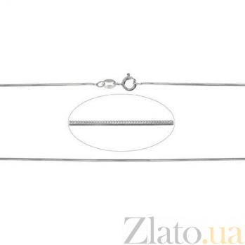 Цепочка Снейк серебряная AQA--255Р-3