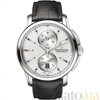 Часы Maurice Lacroix коллекции Chrono 2 counters MLX--PT6178-SS001-130