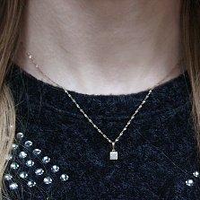 Кулон из золота с бриллиантами Соледад