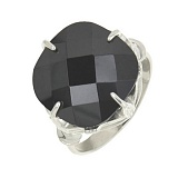 Серебряное кольцо с цирконием Королева