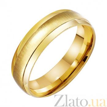 Золотое обручальное кольцо Совершенное чувство TRF--431351