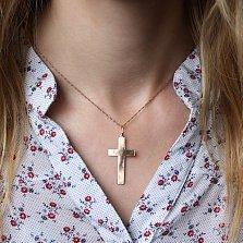 Золотой крест Строгий