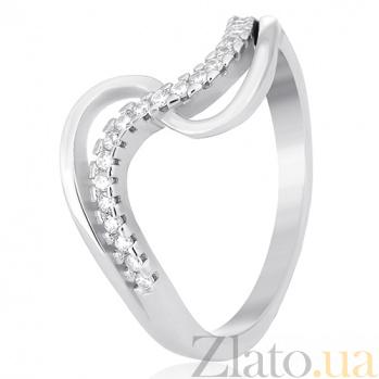 Кольцо из серебра Юнони с цирконием 000030953