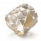 Кольцо ANCIENT с коньячными бриллиантами R-Stern-E/R-6bd
