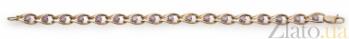 Золотой браслет с цирконием Люсьена 000030676