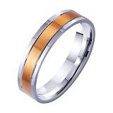 Золотое обручальное кольцо Пьянящий аромат любви