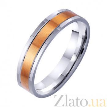 Золотое обручальное кольцо Пьянящий аромат любви TRF--4411733