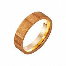 Золотое обручальное кольцо Традиции любви