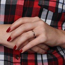 Золотое обручальное кольцо Любовь и верность, 2мм