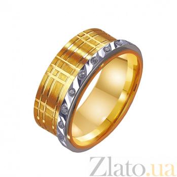 Золотое обручальное кольцо Феерия блеска TRF--4421531