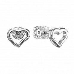 Серебряные серьги-пуссеты 000122799