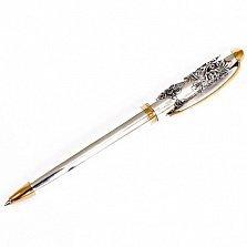 Серебряная ручка с позолотой Театральная
