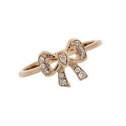 Золотое кольцо с бриллиантами 000021040