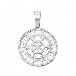 Серебряная подвеска Щит Перуна 000133252