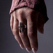 Кольцо из серебра Legend с чернением