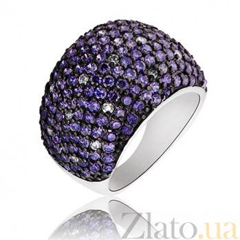 Серебряное кольцо Вега со Swarovski Zirconia 000000130