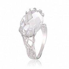 Кольцо из серебра с цирконием Неофита