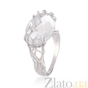 Кольцо из серебра с цирконием Неофита 000028109