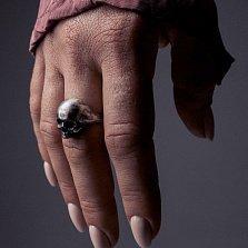 Кольцо из серебра Yorick с чернением