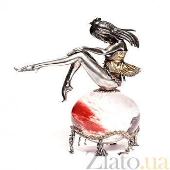 Серебряная статуэтка Адель 990