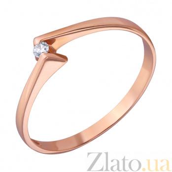 Подарок на помолвку Koltso_iz_krasnogo_zolota_vstrecha_s_brilliantom_edm_kd7381