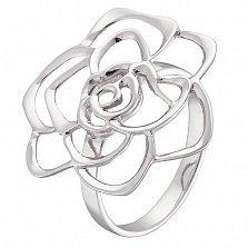Серебряное ажурное кольцо Фиона