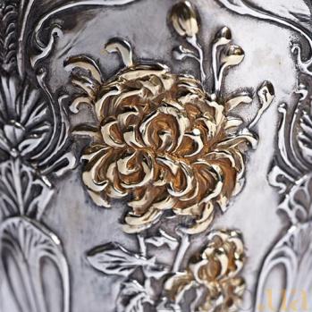 Серебряный бокал Царский 939