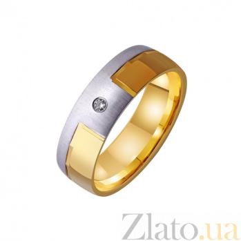Золотое обручальное кольцо Amor omnibus idem TRF--4421468