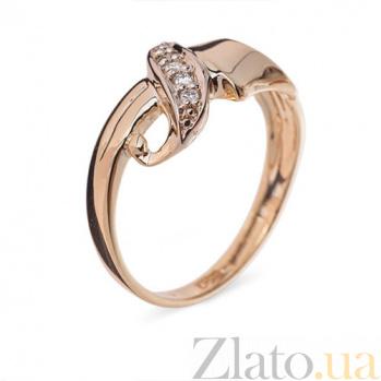 Золотое кольцо с бриллиантами Джемма R 519