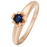 Золотое кольцо Лареина с сапфиром