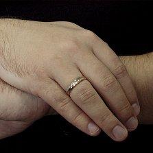 Золотое обручальное кольцо Классическая пара