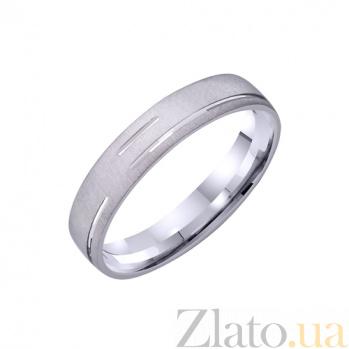 Золотое обручальное кольцо Гармония Любви TRF--421228