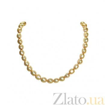 Бусы из золота с жемчугом Аликанте 1Л128-0023